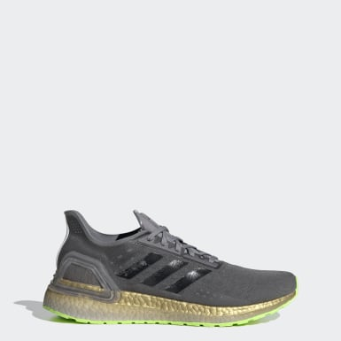 Sapatos Ultraboost PB Cinzento Homem Running