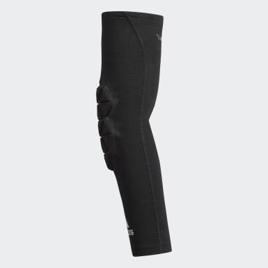 Men's Training Black Alphaskin Force Padded Elbow Sleeve