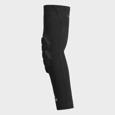 Men's Training Black Alphaskin Force Padded Elbow Sleeve