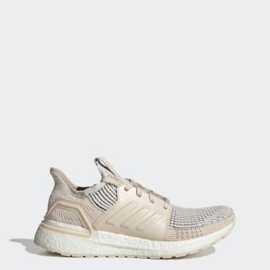 ผู้หญิง วิ่ง สีขาว รองเท้า Ultraboost 19