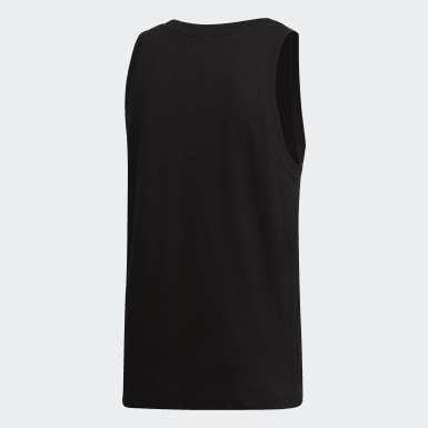 Herr Originals Svart Trefoil Tank Top