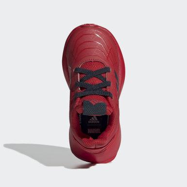 Tenis Marvel Hombre Araña RapidaRun (UNISEX) Rojo Niño Running