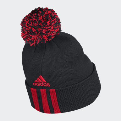 Men Training Multicolor Senators Cuffed Knit Pom Beanie