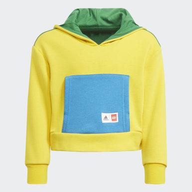 Conjunto sudadera con capucha y pantalón LEGO® Amarillo Niña Training