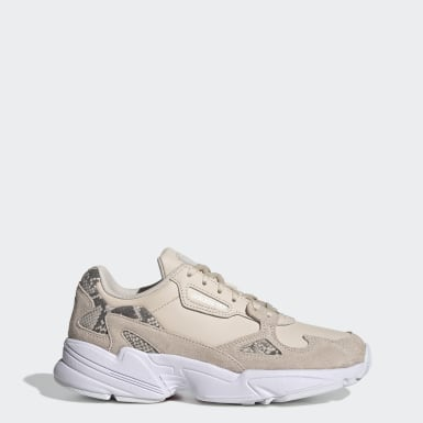 Women Originals Beige Falcon Shoes