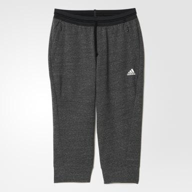 Укороченные брюки Cotton Fleece