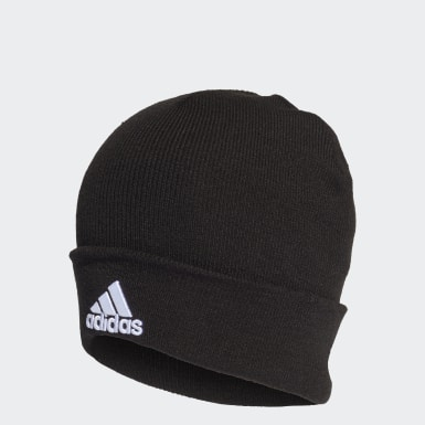 черный Шапка Logo