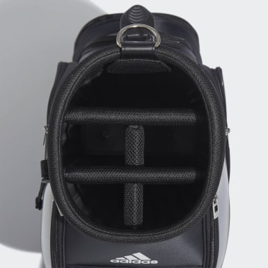Men Golf Black Basic Caddie Bag