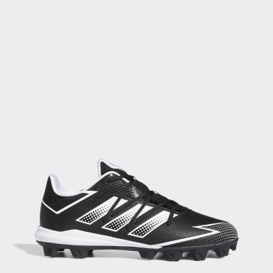 Men's Baseball Black Afterburner 7 MD Cleats