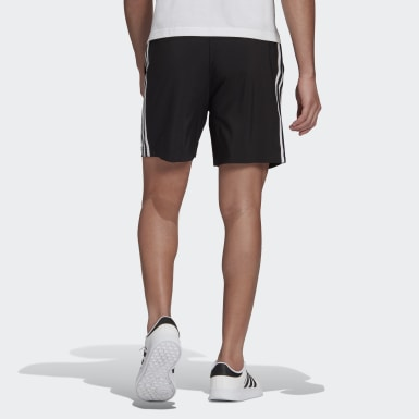 Shorts Essentials Chelsea 3 Franjas AEROREADY Negro Hombre Sport Inspired