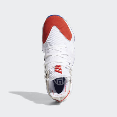 Men Basketball White Harden Vol. 4 Question Shoes