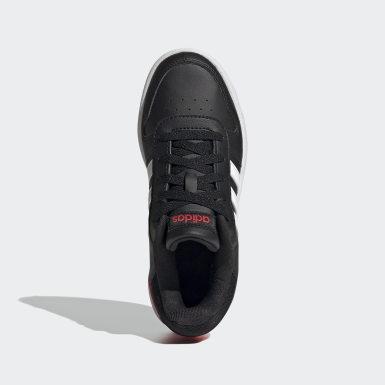 Børn Basketball Sort Hoops 2.0 sko
