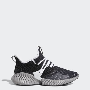 Men Running Black Alphabounce Instinct Clima Shoes