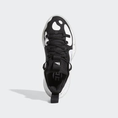 Kids Basketball Black Harden Step-Back 2.0 Shoes