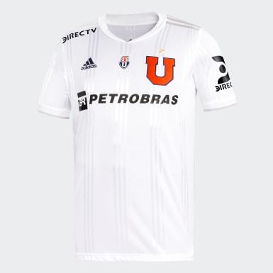 Camiseta Visitante Club Universidad de Chile Niño Blanco Niño Fútbol