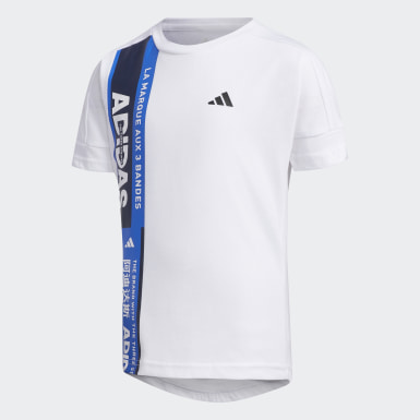 Boys Athletics White T-Shirt