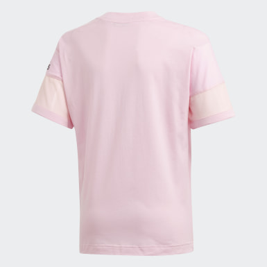 Playera adidas Z.N.E. Rosa Niña Training