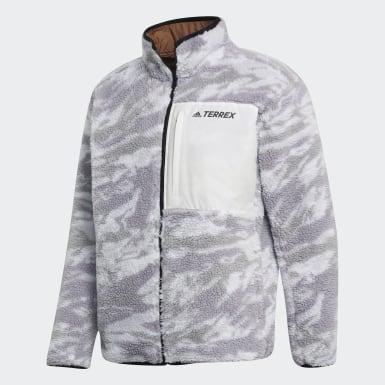 Mænd TERREX Grå Terrex Explore Sherpa Fleece jakke