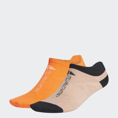 бежевый Две пары коротких носков adidas by Stella McCartney