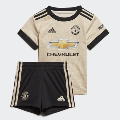 Kit Alternativo do Manchester United para Bebé