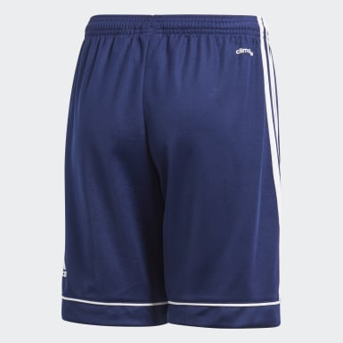 Short Squadra 17 bleu Adolescents Soccer