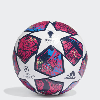 Men Football White UCL Finale Istanbul League Ball