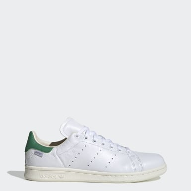 adidas Originals STAN SMITH Weiss Rot Schuhe Sneaker Low 94