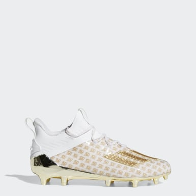 Men's Football White Adizero X Anniversary Cleats