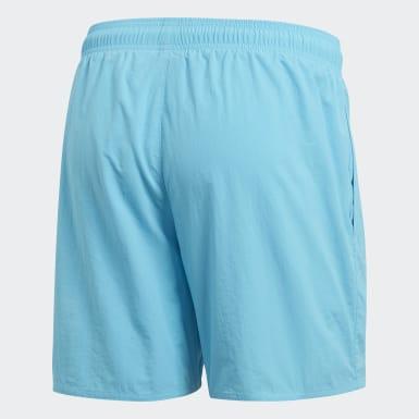 бирюзовый Пляжные шорты Solid
