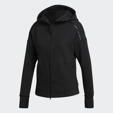 Women Athletics Black adidas Z.N.E. Hoodie 2.0