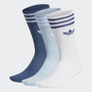 Calcetines clásicos-Pack de 3 (UNISEX) Azul Originals