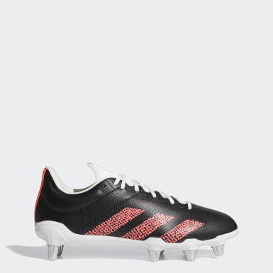 Rugby Black Kakari Soft Ground Cleats