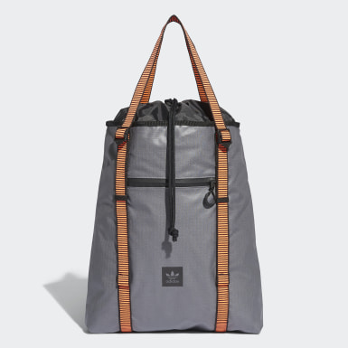 Cinch Tote Bag Szary