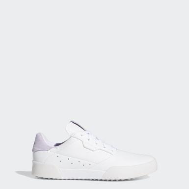 Sapatos Retro Adicross Branco Criança Golfe