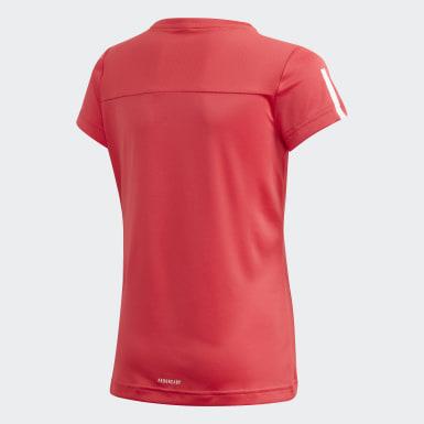 Camiseta Equipment Rosa Meninas Training