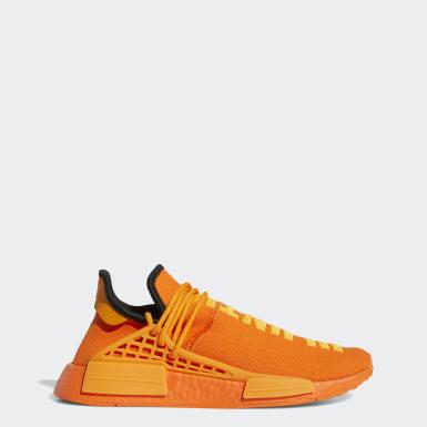 Men Originals Orange HU NMD Shoes