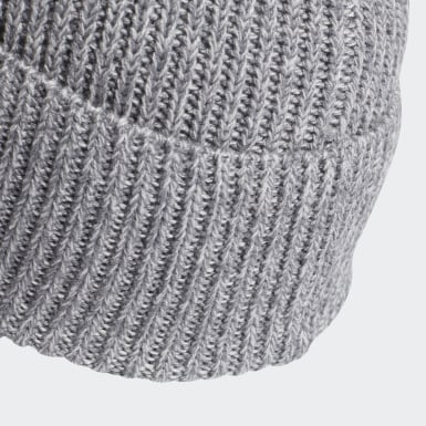 серый Шапка-бини Merino Wool