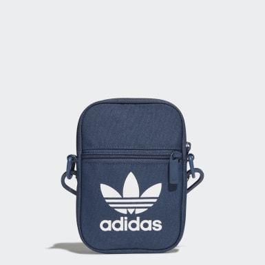 Originals Blue Trefoil Festival Bag