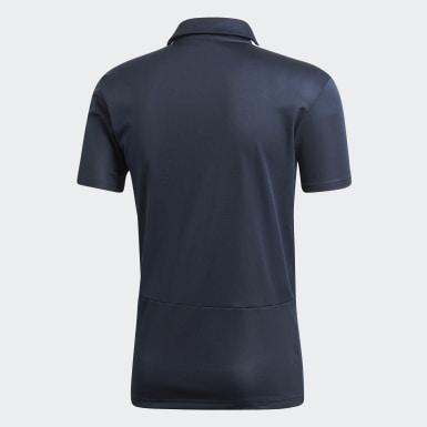 Men Football Grey Real Madrid Polo Shirt