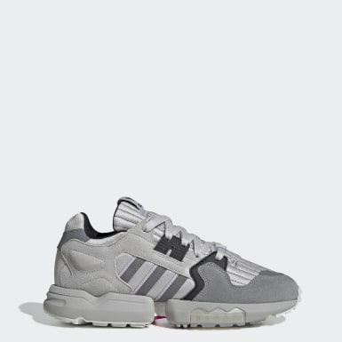 Women Originals Grey ZX Torsion Shoes