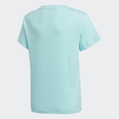 T-shirt Trefoil bleu Adolescents Originals