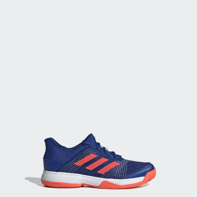 Kids Tennis Blue Adizero Club Shoes