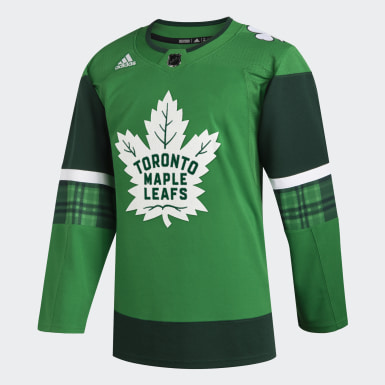 Maple Leafs St. Patrick's Day Authentic Pro Jersey