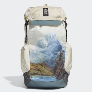 Tennis Beige Explorer Primegreen Graphic Backpack