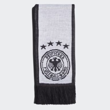 Soccer White Germany Scarf