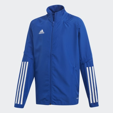 Kinder Training Condivo 20 Präsentationsjacke Blau