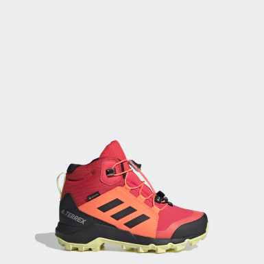Kids TERREX Pink Terrex Mid GORE-TEX Hiking Shoes