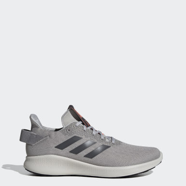 Men Running Grey Sensebounce + Street Shoes