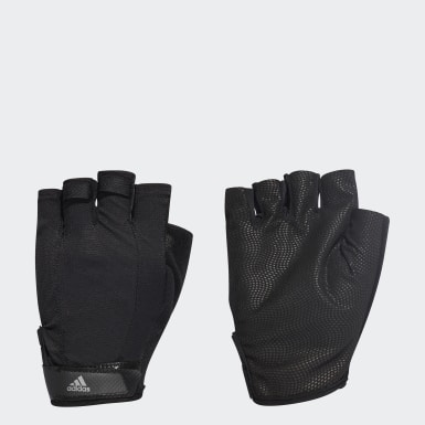 Running Black Versatile Climalite Gloves