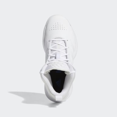 Tenis Cross Em Up 5 (UNISEX) Blanco Niño Basketball